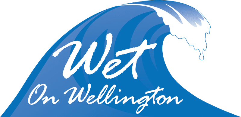 Wet on Wellington